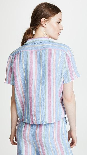 FRAME Linen Pocket Shirt