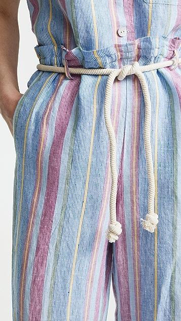 FRAME Linen Easy Pants