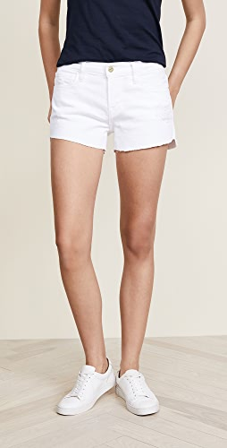 FRAME - Le Cuttoff Shorts with Tulip Hem