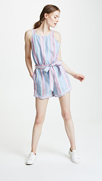FRAME Linen Jumpsuit