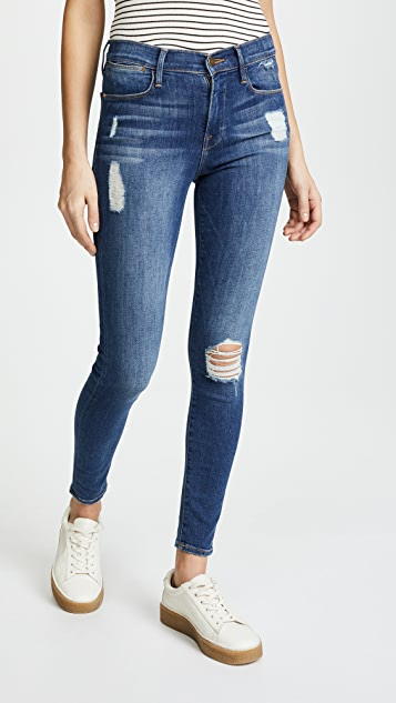 Le High Skinny Gusset Step. - size 24 (also in 25,26,27,28,29,30) Frame Denim