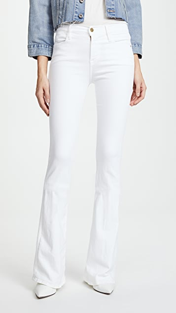FRAME Le High Flare Jeans | SHOPBOP