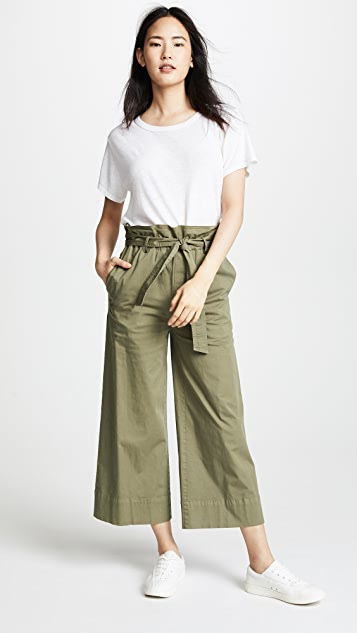 FRAME Paper Bag Trousers