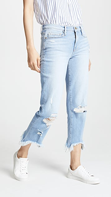 FRAME Le Nouveau Stiletto Hem Jeans