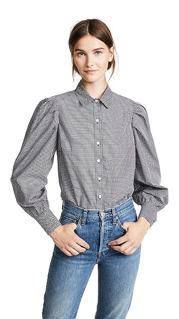 FRAME Extreme Gingham Shirt