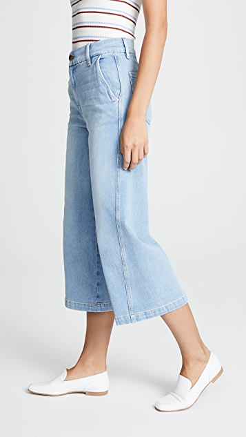 FRAME Twisted Seam Trouser Pants