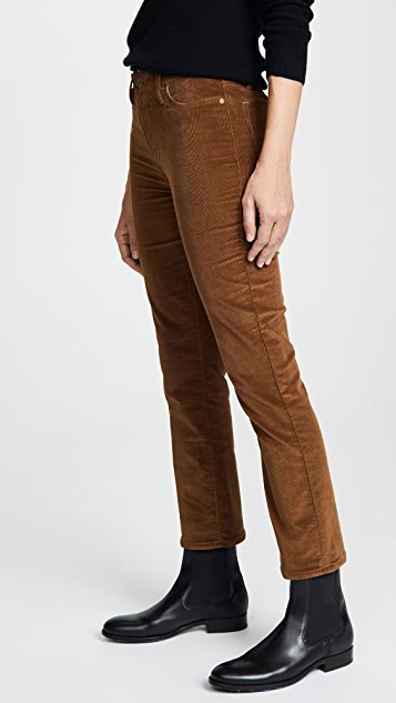 FRAME Le High Straight Pants