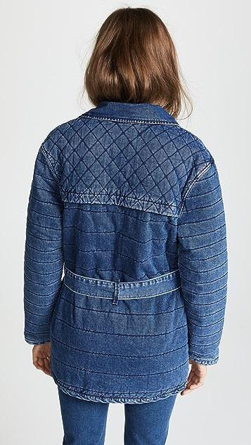 FRAME Quilted Jacket