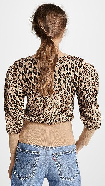 FRAME Full V Neck Sweater