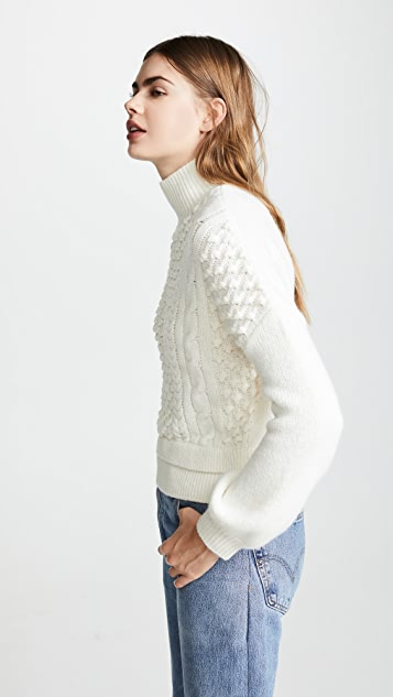 FRAME Nubby Sweater