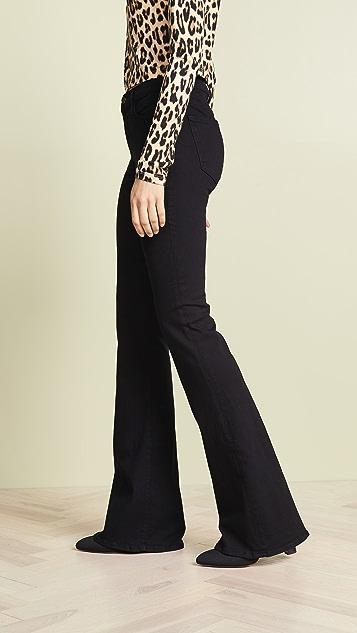 FRAME Расклешенные джинсы Le с высокой посадкой