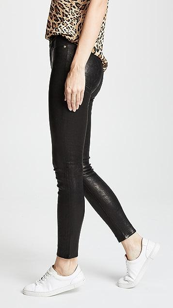 FRAME Le High Skinny Pants