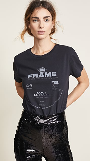 FRAME Worn Out Tee