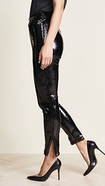 FRAME Sequin Pull On Pants