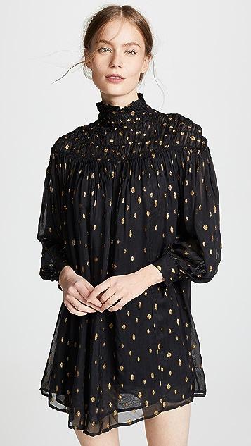 1747019e474491 FRAME Smocked Long Sleeve Dress | SHOPBOP