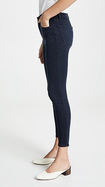FRAME Ali High Rise Skinny Cigarette Jeans