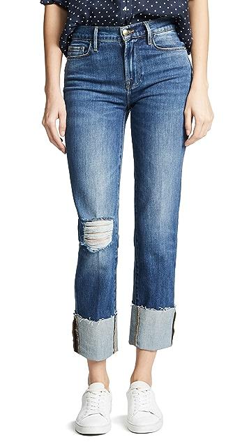 FRAME Le Nouveau Big Cuff Jeans