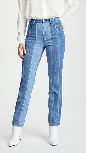 FRAME Le Sylvie Multi Panel Jeans