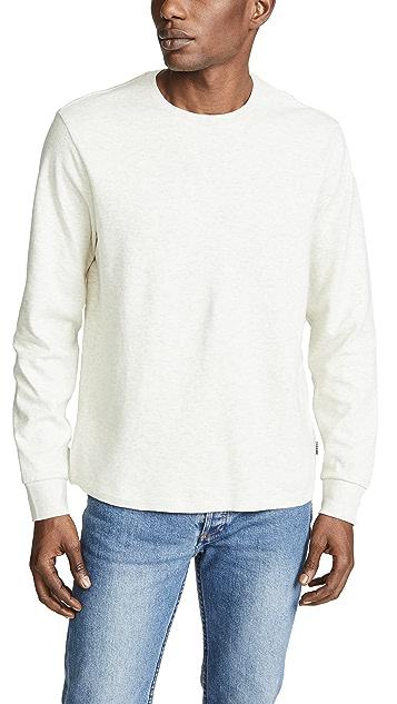 FRAME Long Sleeve Crewneck Sweatshirt