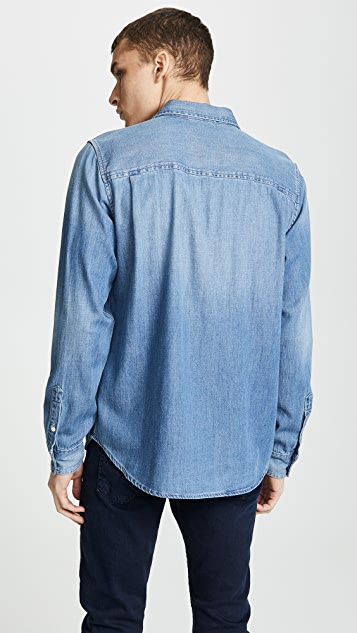 FRAME Denim Long Sleeve Shirt