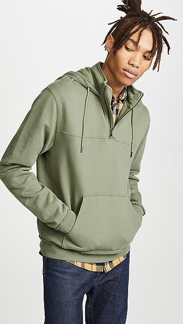 FRAME Half Zip Sweatshirt