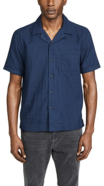 FRAME Camp Collar Shirt