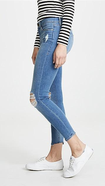 FRAME Le 紧身九分牛仔裤