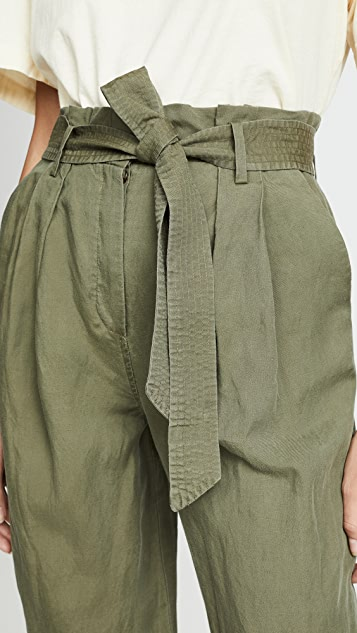 FRAME Paperbag Trousers