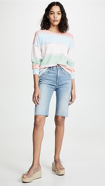 FRAME Le Vintage Bermuda Shorts