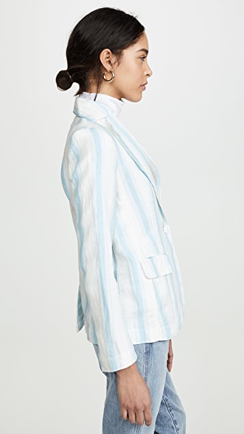 FRAME Classic Stripe Blazer