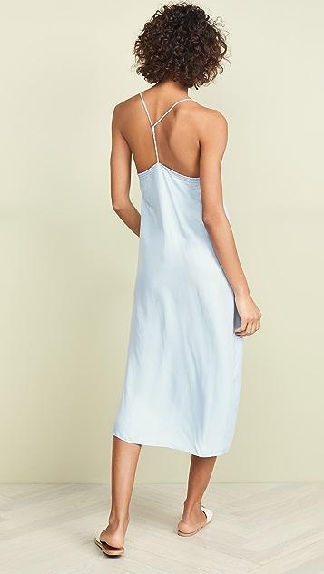FRAME Midi Slip Dress