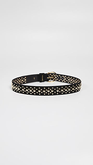 FRAME Thin Studded Belt