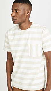 FRAME Yarn Dyed Pocket Tee