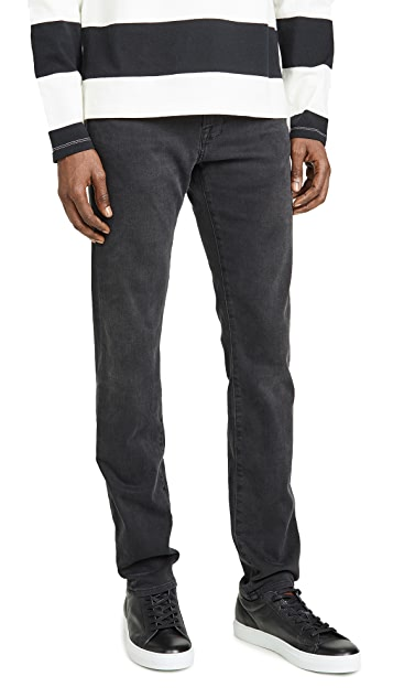 FRAME L'Homme Slim Fade To Grey Denim Jeans