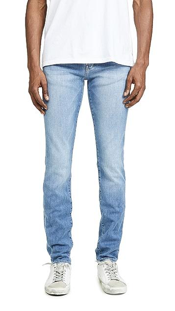 FRAME L'Homme Skinny Bastille Blast Denim Jeans
