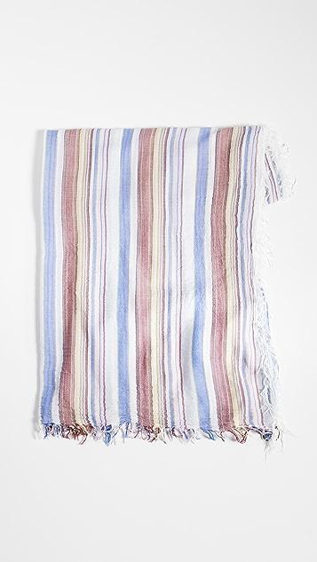 FRAME 流苏梭织围巾