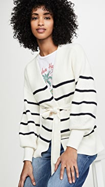Chunky Wrap Sweater