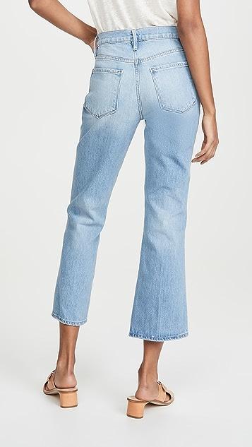 FRAME Расклешенные джинсы Le Sylvie Kick