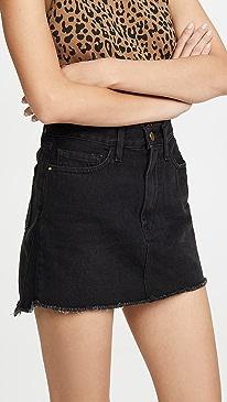 Le Mini Skirt Triangle Side Gusset