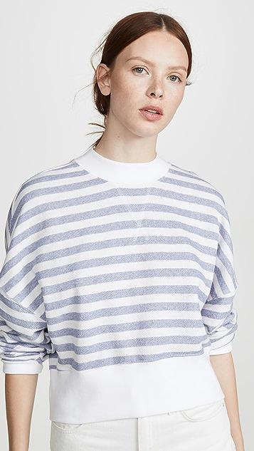 FRAME Drop Shoulder Sweatshirt