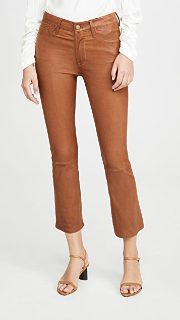 FRAME Le Crop Mini Boot Cut Pants
