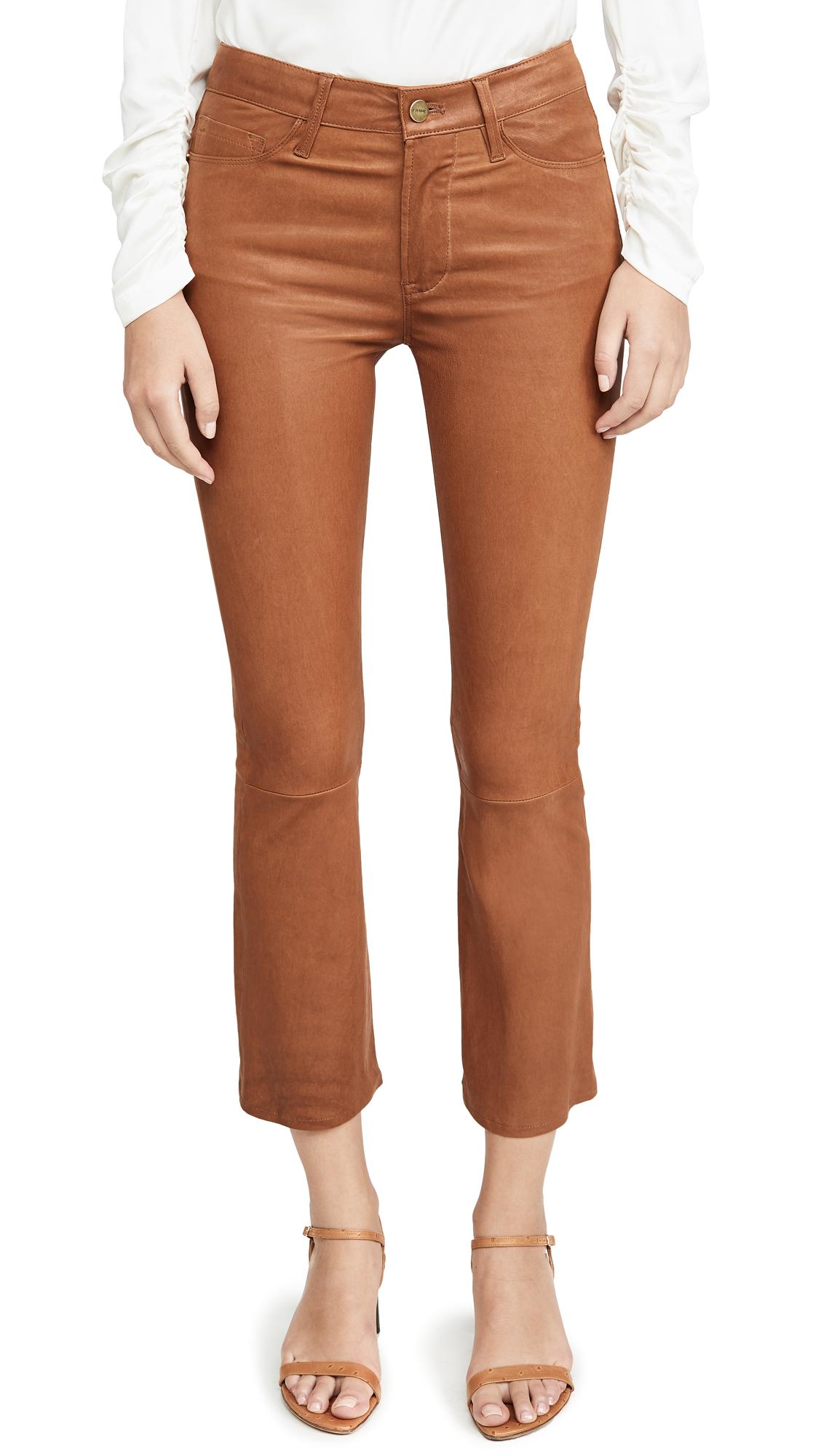 FRAME Le Crop Mini Boot Cut Pants