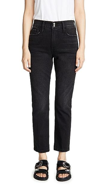 FRAME Облегающие прямые джинсы Heritage Sylvie