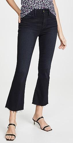 FRAME - Le Crop Mini Boot Raw Edge Jeans