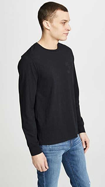 FRAME Brooklyn Banks Long Sleeve Tee