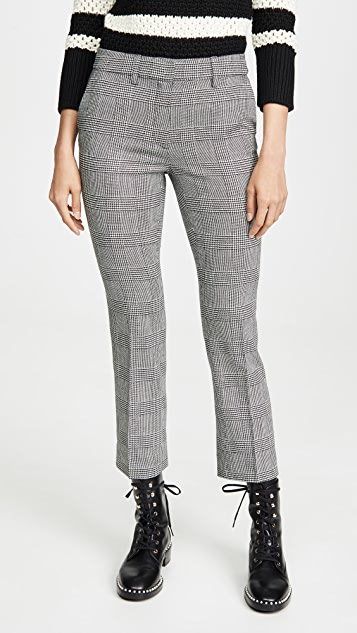 FRAME Cropped Perfect Trousers