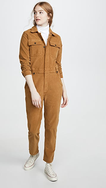 Frame Suits Caitlin Cord Coveralls