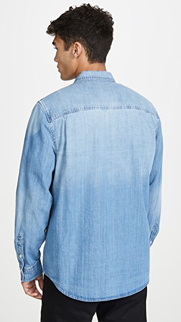 FRAME Long Sleeve Double Patch Pocket
