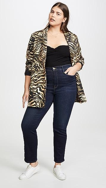 FRAME Sylvie Straight Jeans