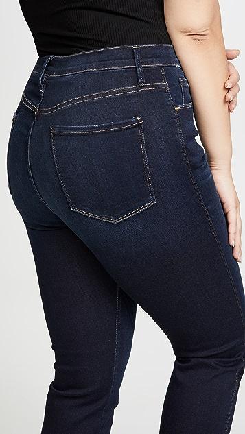 FRAME Прямые джинсы Sylvie